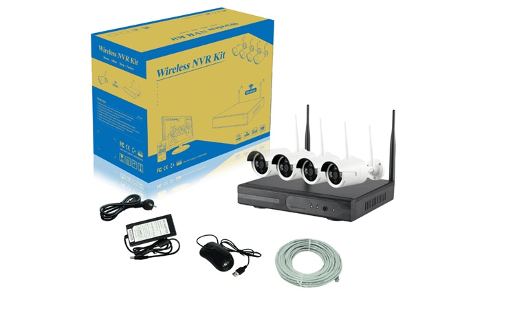 BỘ KIT WIFI CAMERA VICOM 9504W-PE3010W( 2.4G)